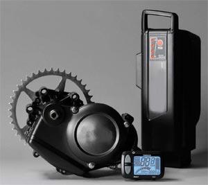 moteur et batterie de vélo électrique